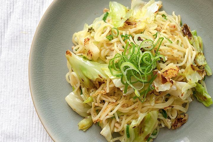 NATURE FUTURe 生姜スープを使った生姜スープで作る白い焼きそばの記事サムネイル
